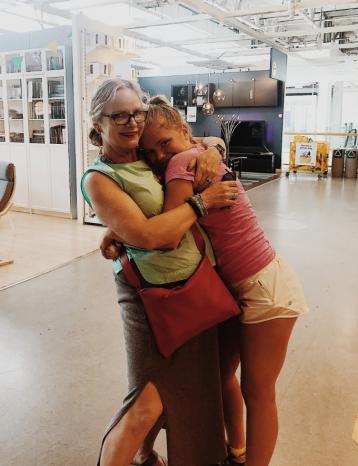 momma & me at IKEA