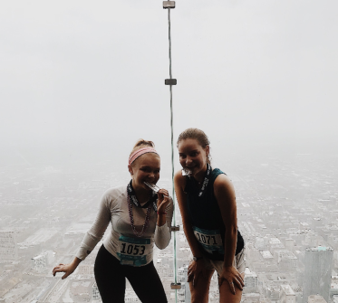 skyrise, annual fundraise climbing up 103 stairs of willis tower